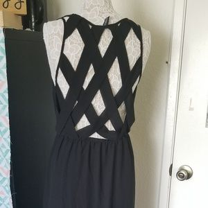Summer intricate back maxi dress
